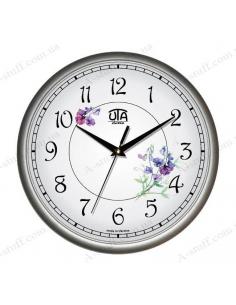 "Wall clock ""Delicate Flowers"""