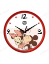 "Wall clock ""Mickey Mouse and Minnie Mouse"""