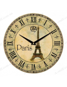 "Clock for wall ""Eiffel Tower"""