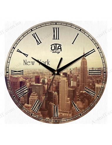 """Часы настенные """"""""Нью Йорк"""""""