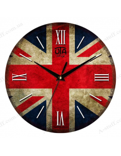 "Clock for wall ""Union Jack"""