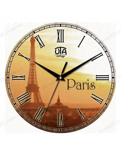 "Clock for wall ""Paris"""