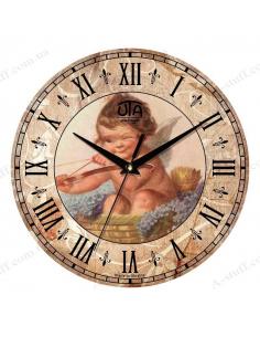 """Годинник настінний """"Янголятко"""""""