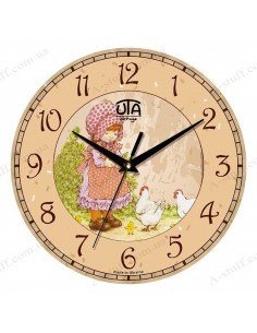 "Clock for wall ""Little helper"""