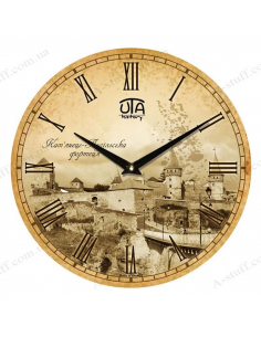 "Clock for wall ""Kamianets - Podilskyi Castle"""