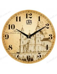 """Clock for wall """"Holy Dormition Pochayiv Lavra"""""""