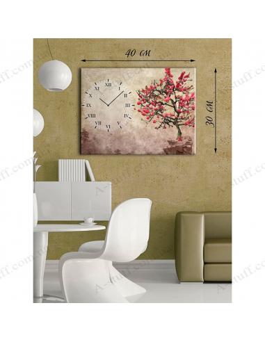 "Картина з годинником ""Дерево сакури"""