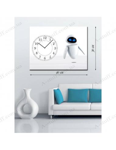 """Картина з годинником """"Eve"""""""