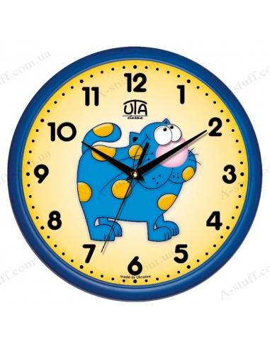 """Настенные часы """"Кот бандеровец"""""""