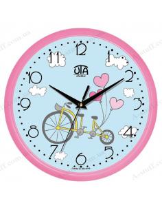 """Настінний годинник """"Велосипед для двох"""""""
