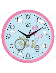 "Wall clock ""Bicycle for Two"""