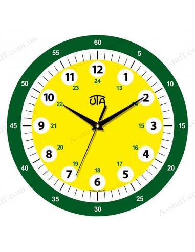 Обучающие детские настенные часы