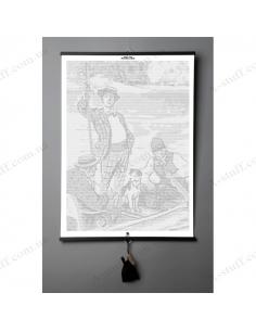 "Книга картина Jerome K. Jerome ""Three Men in a Boat"""