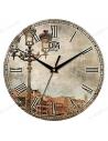 "Clock for wall ""Vintage Lantern"""