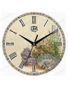 """Clock for wall """"Bushes"""""""