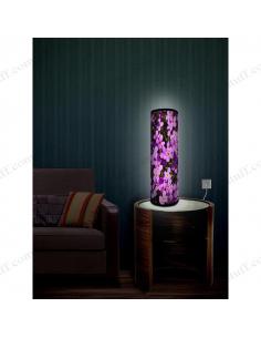 "Design lighting ""Purple flowers"""