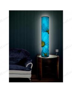 "Design lighting ""Blue Flowers"""