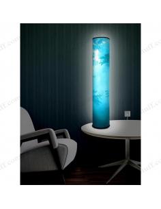 "Design lighting ""Turquoise Morning"""