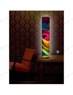 """Design lighting """"Multi-colored petals"""""""