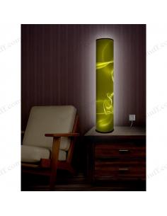 """Дизайнерський світильник """"Жовтий ефір"""""""