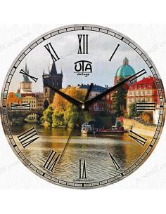 "Clock for wall ""Prague"""
