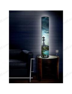 "Дизайнерський світильник ""Блакитна затока"""