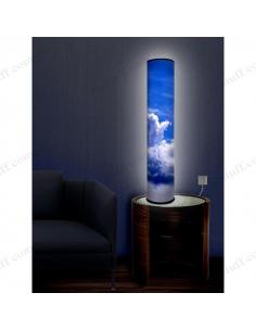 """Дизайнерський світильник """"Синє небо"""""""