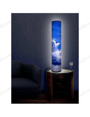 """Дизайнерский светильник """"Синее небо"""""""