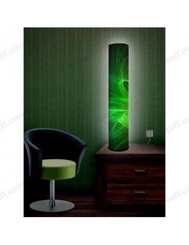 """Оригінальний світильник """"Зелені траєкторії"""""""
