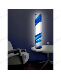 """Оригінальний світильник """"Сині стрічки"""""""