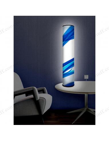 """Оригинальный светильник """"Синие ленты"""""""