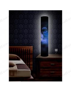 """Оригінальний світильник """"Сині сфери"""""""