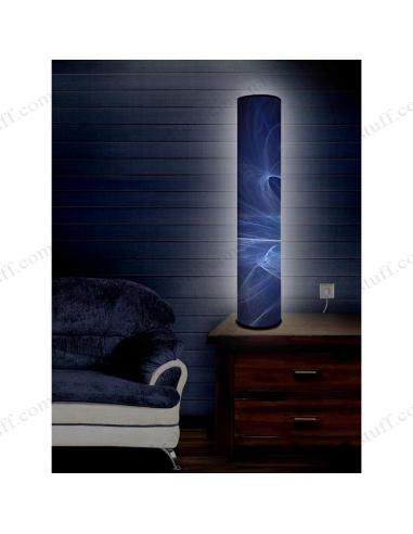 """Оригинальный светильник """"Синие траектории"""""""