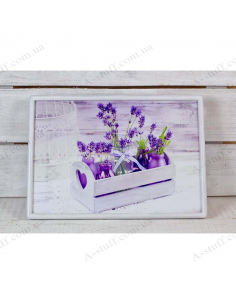 """Table - tray on a pillow laptop / breakfast """"Lavender"""""""
