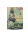 "Cover on the passport ""Paris"""