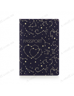 "Cover on the passport ""Constellations"""