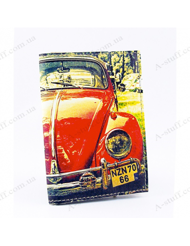 "Cover for Auto Documents ""Red car"""