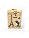 """Cover on the passport eco-leather """"Vintage Paris"""""""