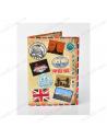 """Обложка на паспорт экокожа """"Паспорт счастливчика"""""""