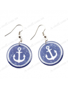 "Earrings ""Anchor"""