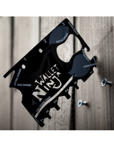 Multi-tool Wallet Ninja 18 in 1