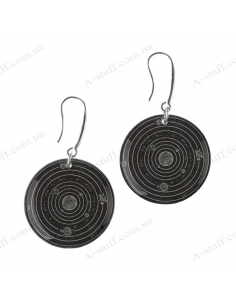 """Earrings """"The Planets"""""""