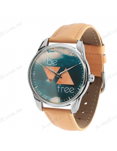 """Wristwatches must-have """"Be free"""""""