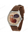 """Wristwatches fabric """"Sloth"""""""