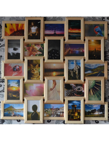 """Multiframe wooden for 25 Photos """"Classic 25"""""""