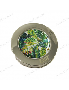 "Handbag hanger ""Palm Leaves"""