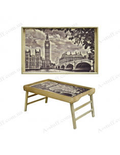 """Table - tray for breakfast """"Big Ben"""""""