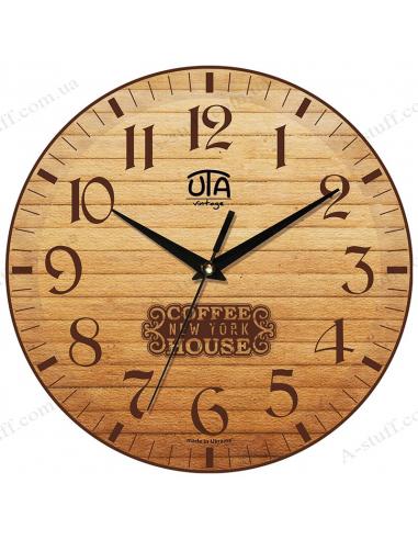 """Годинник настінний """"Coffee House New York"""""""