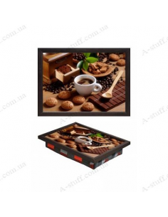"""Tray on a pillow laptop / breakfast """"Paradise 4 sweet tooth"""""""