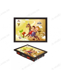 """Tray on a pillow laptop / breakfast """"Fantasies"""""""